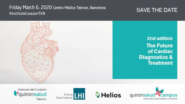 Save the date Cardiología Teknon