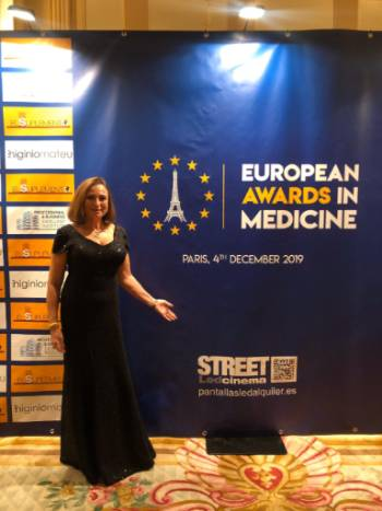 European Awards in Medicine 2019 Dra. Victoria Delgado
